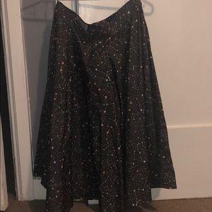Cosmos flare skirt.